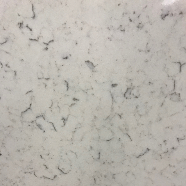 Luminous White Quartz Countertop by Twin Cities Discount Granite