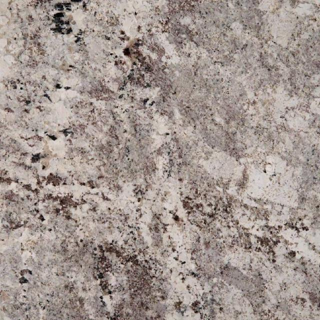 Alaska White Granite Kitchen and Bathroom Countertops by TC Discount Granite