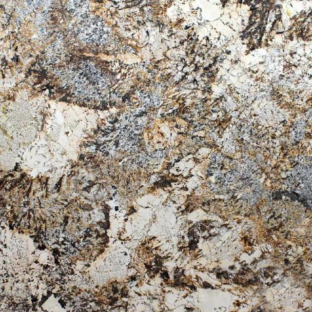 Caravelas Gold Granite Kitchen and Bathroom Countertops by TC Discount Granite
