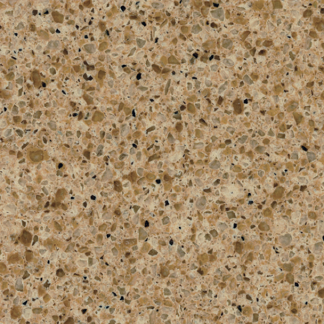 English Toffee Quartz Kitchen and Bathroom Countertops by TC Discount Granite